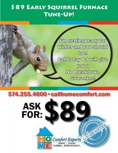 Schedule Service For Air Conditioner Furnace Or Plumbing